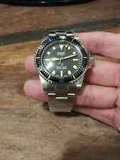 5517 Milsub Submariner Seiko NH35 Automatic Stainless Mens Diver Watch Nice!!!