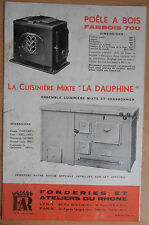 Catalogue depliant Far poêle cuisiniere  ( ref 1 )