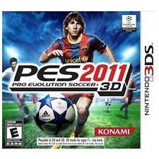 New Nintendo 3DS Pro Evolution Soccer 2011 3D Game PES Sealed