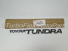 Toyota Tundra 2000-2006 Front Door Name Plate Emblem  Genuine OEM    75471-0C010