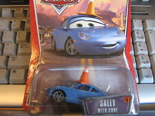 DISNEY PIXAR CARS SALLY WITH CONE THE WORLD OF CARS