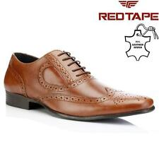 Red Tape Carlow Mens Leather Brogues Lace Up Formal Casual Smart Office Shoes