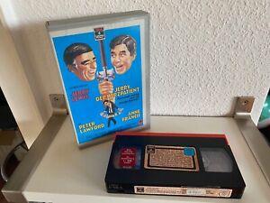 Jerry Lewis - Jerry der Herzpatient, VHS, RCA, grosser Einleger, silber