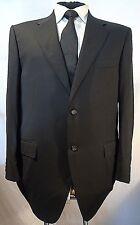 CANALI -ITALY ELEGANT TAILORED BLACK BUSINESS/DRESS SUIT JACKET UK 44 EU 54
