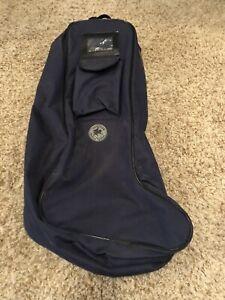 Navy Blue Boot Bag Waterresistant