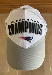 New England Patriots New Era Super Bowl LIII (53) Adjustable Locker Room Hat