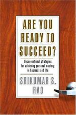 Srikumar S. Rao~ARE YOU READY TO SUCCEED~SIGNED~1ST/DJ~NICE COPY