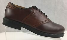 Nunn Bush Round Toe Oxfords 83910-51 Brown Leather Lace Up  Mens Shoes 8.5 W