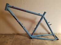 On-One Il Pompino frame & fork.  medium 51cm powder blue