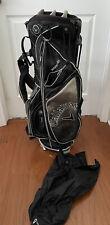 Callaway Warbird Dual Strap Golf Stand Bag Black/Gray w Raincover