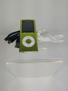 G.G.Martinsen Green Stylish MP3/MP4 Player with a 16GB Micro SD Card