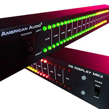 Dual 40 Professional Audio Spectrum Stage Home Amplifier Led Level Indicator