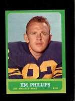 1963 TOPPS #41 JIM PHILLIPS NMMT LA RAMS *XR24395