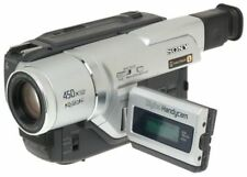 Sony DCR-TRV120 Digital 8 Hi-8 & 8mm Camcorder VIDEO TRANSFER W/CABLE