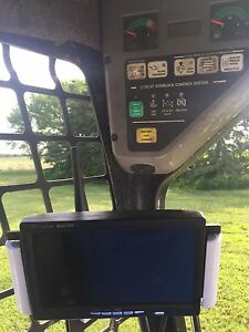 SKID STEER BOBCAT LED Back Up Camera + Mounting Bracket SKIDSTEER UNIVERSAL