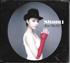 CD DIGIPACK 9 TITRES SHANTI SNYDER SHARE MY AIR NEUF SCELLE  Hayama ‎– HAY-033