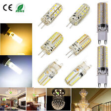 G4 G9 Silicone Crystal Led Bulb 3W 5W 6W 10W Light SMD Lamp Warm/Cold Light