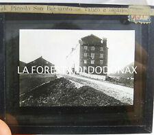FOTO ANTICA LANTERNA MAGICA PICCOLO SAN BERNARDO DOLOMITI ALPINISMO 1890 AOSTA