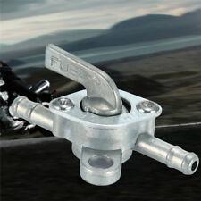 1X Benzinhahn Universal 6mm Inline Fuel Tank Filter Switch für Quad Dirt Bike  #