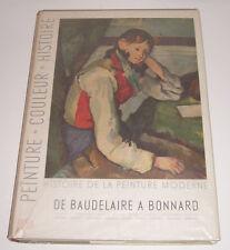 SKIRA - Histoire de la peinture moderne - De Baudelaire à Bonnard - TBE