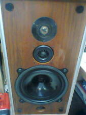 Bowers and Wilkins B&W dm 4 altoparlanti Vintage Monitor rary english speakers.