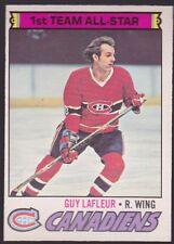 1977-78 OPC O-Pee-Chee Guy Lafleur #200 nr mint