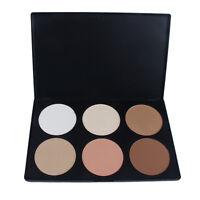 6 Naturale Colori Palette Tavolozza Ombretto Eyeshadow Make Up Trucco Cosmetici