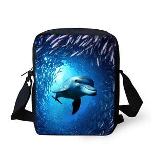 Blue Fashion Small Messenger Shoulder Bag Casual Cross Body Purse Sling Bag
