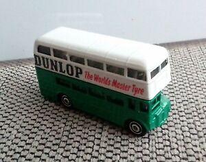 """Matchbox London Bus """"Double Decker"""" Doppeldecker, DUNLOP"""