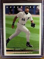 Frank Thomas Baseball Card #555 Upper Deck Chicago White Sox Free Ship MLB HOF