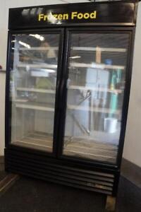 True GDM-49F 2 Door Freezer Merchandiser w/ LED Lights 2016 Model 4 Ice Cream/FF