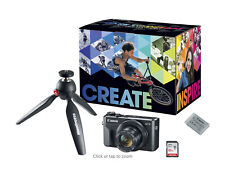 Canon - PowerShot G7 X Mark II 20.1-Megapixel Digital Camera Video Creator Kit -