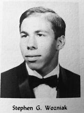 Steve Wozniak Senior High School Yearbook Apple Founder Mac Book iPhone iPad