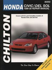 Repair Manual Chilton 30202 fits 96-00 Honda Civic