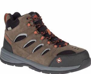 30% OFF--Merrell  Men's Windoc Mid Steel Toe Work Safety Boots J17817