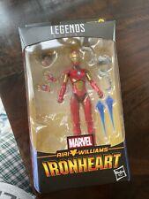Marvel Legends Riri Williams Iron Heart (NO BAF) In Hand!