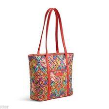 VERA BRADLEY Small Trimmed Vera Tote PAISLEY IN PARADISE Bag Purse Shoulder $68