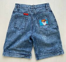 Peter Max Denim Shorts 1987 Neo Max