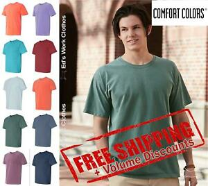 Comfort Colors Garment Dyed Heavy Ringspun Short Sleeve Shirt 1717 up to 4XL