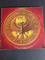 The Best of Earth Wind and Fire Vol.1 Vinyl LP CBS 1978