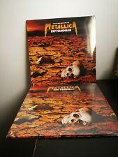 METALLICA - EXIT SANDMAN: LIMITED EDITION ON SAND COLOURED LP VINYL - NEW&SEALED