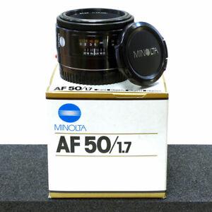 ***MINOLTA AF 50mm F/1.7 PRIME LENS for MINOLTA/SONY 35MM FILM SLR/DSLR's***