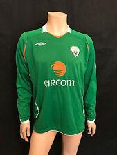 Ireland Long Sleeved Football Shirt, Size X-Large, Umbro, Fantastic.