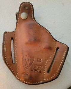 Safariland Leather Holster 28 MD/FR S & W