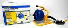 Drain Cleaner BrassCraft 5/16 in. x 50ft Cable Drum Machine Model: 600-BC260