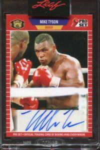 2021 Leaf Pro Set Mike Tyson Auto Autograph #'d 3/99 Boxer