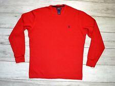 RALPH LAUREN RED BLOUSE size L