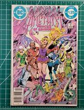 AMETHYST ANNUAL #1 (1984 )DC Comics 1st Series VF/NM Gemworld Vintage Comic Book