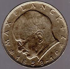 2 DM 1961 G Max Planck in sehr schön/vorzüglich