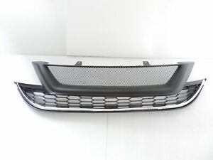 NEW MG Style GRILLE KIT Front + Lower Grill For~10~11~2010 2011 HONDA CRV CR-V